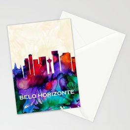 Belo Horizonte Skyline Stationery Cards