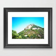 Sandstone Peak 1 Framed Art Print