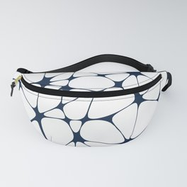 Westwood in Navy Blue + White Fanny Pack
