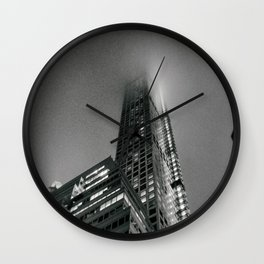 Fog - New York City Wall Clock