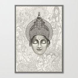 Everlasting Stories | 1/3 - Lord_Krishna Canvas Print