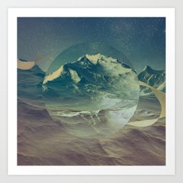 Mount Aeron Art Print