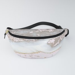 Foam of the sea waves Fanny Pack