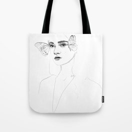 The Butterflies Tote Bag