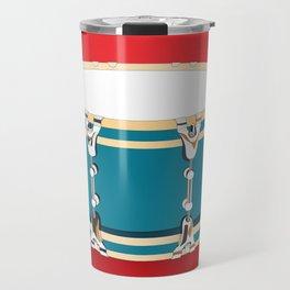 Drum - Red Travel Mug
