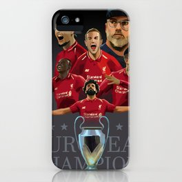 Liverpool - Football Kings of Europe iPhone Case