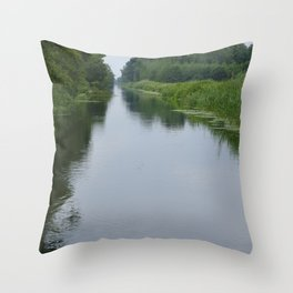 Dutch waters Throw Pillow