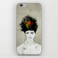 transformer iPhone & iPod Skins featuring I'm not what you see by gwenola de muralt