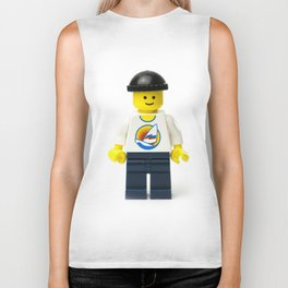 Casual Minifig in summer shirt and beanie Biker Tank