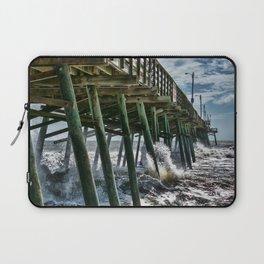 Bogue Inlet Pier Laptop Sleeve