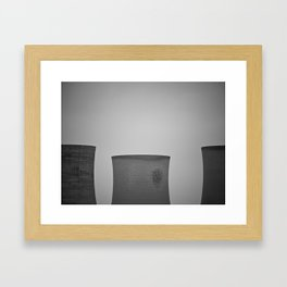 Future/Happy Framed Art Print