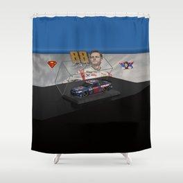 My Dale Jr. Super Man art. Shower Curtain