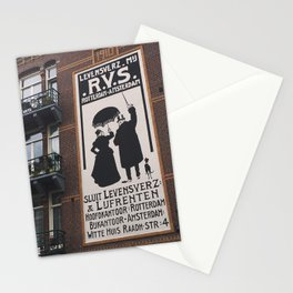 Amsterdam Sign Stationery Cards