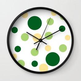 Green Pop Wall Clock