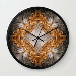 Delusions Of Grandeur II - Vintage Inspired Collection Wall Clock