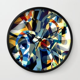 Overexposed Wall Clock