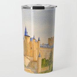 The Alcazar Segovia Spain Travel Mug