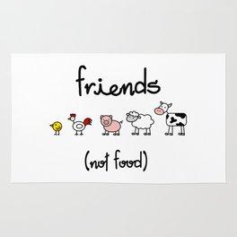 Friends (not food) Rug