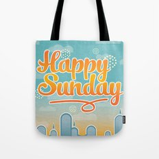 Happy Sunday Tote Bag