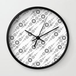 Halftone. Wall Clock