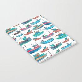 Fishing Boats Notebook