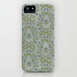 Bees in the Bowers iPhone Case