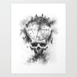 The Time Collector Art Print