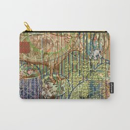 Driving Out Miss Martineau Carry-All Pouch
