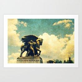 Flight Of Ages Art Print