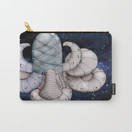 Space station from the fantastic world of the future . artwork Carry-All Pouch