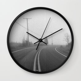 The Long Journey Wall Clock