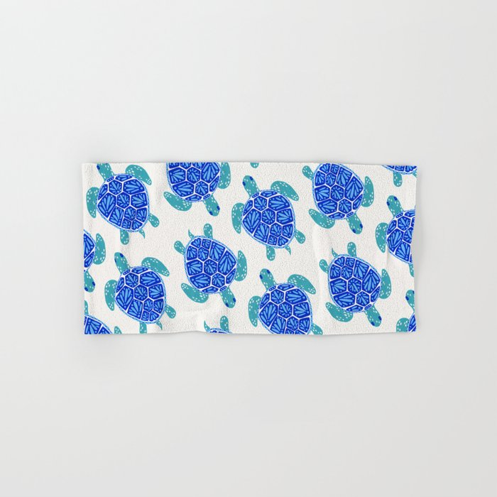 Sea Turtle – Blue Palette Hand & Bath Towel