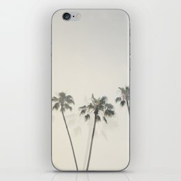 Double Exposure Palms 1 iPhone Skin