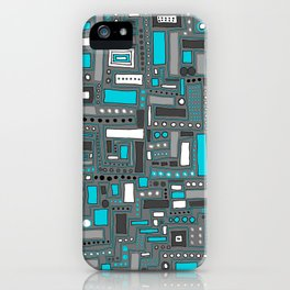 Turquoise Dream (Pattern) iPhone Case