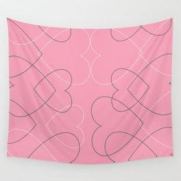 valentine line Wall Tapestry
