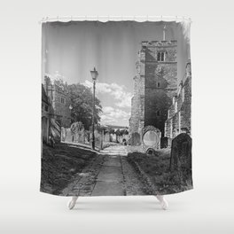 All Saints Church and Collegiate Buildings Shower Curtain