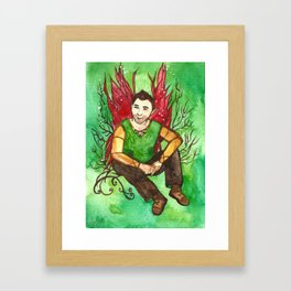 Eiran The Irish Fairy Framed Art Print