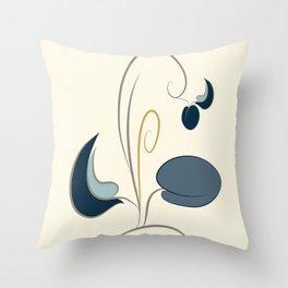 Kalamata olive Throw Pillow