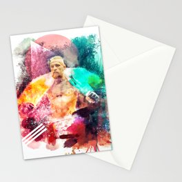 Conor McGregor Abstract Art Print Stationery Cards