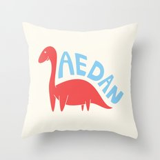 Aedanosaurus Throw Pillow