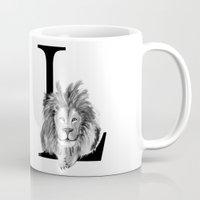 letter Mugs featuring Letter  by Svenningsenmoller Design