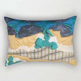 Deserted Stormscape Rectangular Pillow