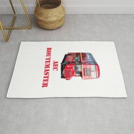 AEC Routemaster London Bus Rug