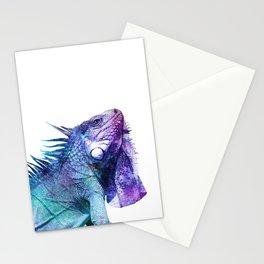 Galactic Iguana Stationery Cards