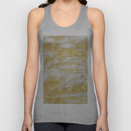Bassiano golden marble Unisex Tank Top