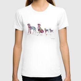 Labrador family T-shirt