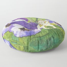 Pansy Faery Floor Pillow