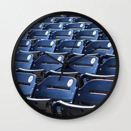 Play Ball! - Stadium Seats Wall Clock