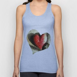 """""""Heart and Soul"""" Unisex Tank Top"""
