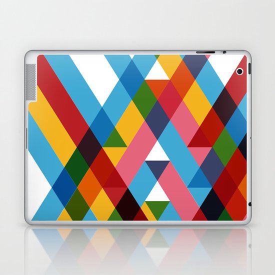 Ribbons Overlay ///www.pencilmeinstationery.com Laptop & iPad Skin